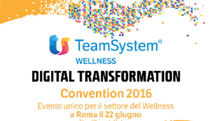 Luca Ercolani media partner alla Convention TeamSystem Wellness 2016: