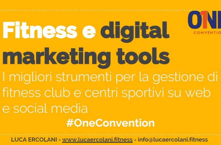 Presentazione di Luca Ercolani: i migliori strumenti digital marketing per fitness club