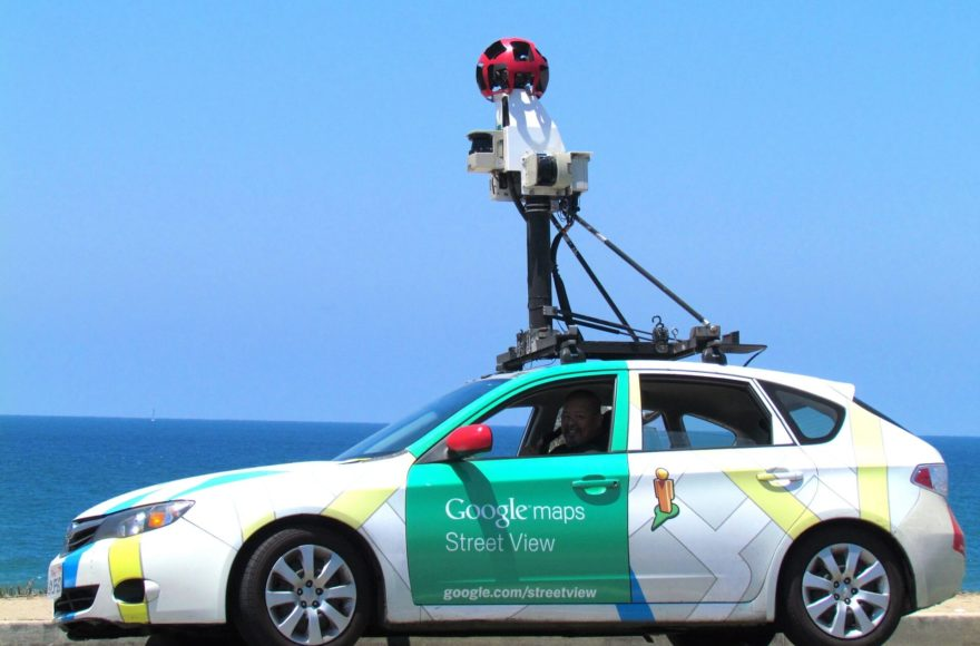 Realtà Aumentata Google Maps Street View
